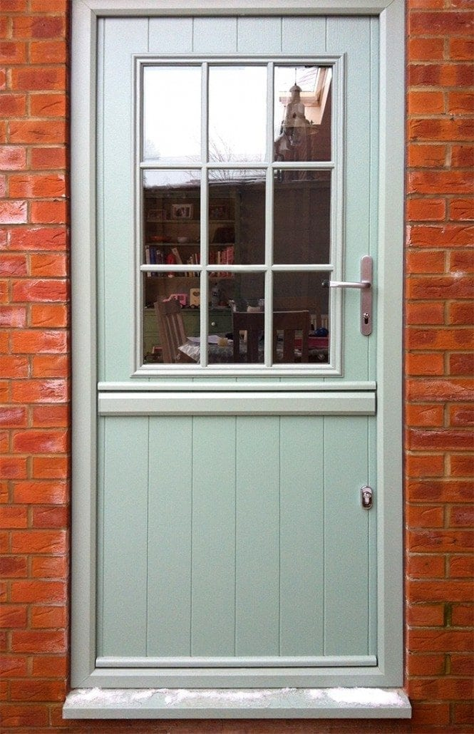 Windows etc colchester front doors back doors for Exterior back door with window